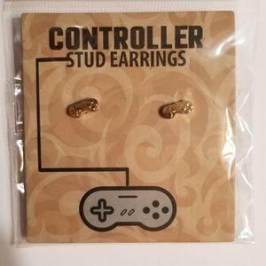 Accessories - Super nintendo controller stud earrings